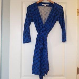 DVF wrap dress 👗